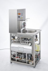 Wastewater autoclave